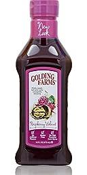 Golding Farms Raspberry Walnut Vinaigrette Dressing 16 Oz (Pack of 2)