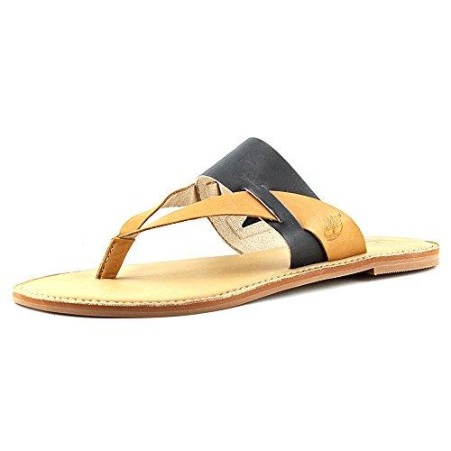 Timberland EarthkeepersEk Sheafe Thong - Zapatos de Punta Descubierta Mujer Blk-Tan