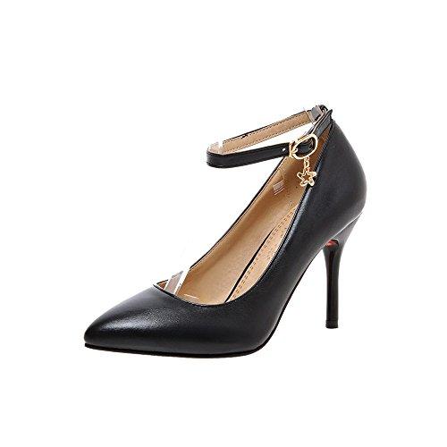 Guoar - Tira de tobillo Mujer negro