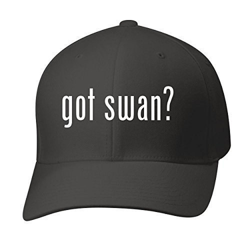 Bh Cool Designs Got Swan    Baseball Hat Cap Adult  Black  Large X Large