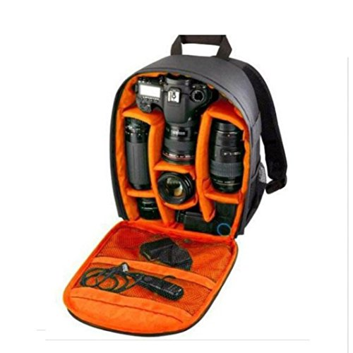 Borsa della Fotocamera, vistuale® 1PC Fotocamera Zaino per fotocamera Canon Borsa Zaino Impermeabile DSLR Custodia con moschettone per Canon casi