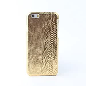 JOE Glitter PU Leather Back Case for iPhone 6 (Assoted Colors) , Golden