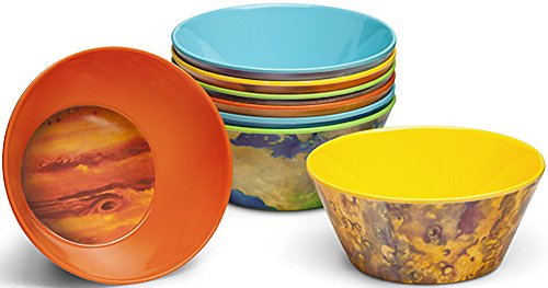Chicken Bowl (Planet Bowls Set - Eight 5 1/2 Inch Melamine Astronomy Bowls)