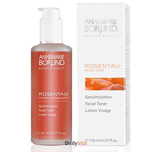 Annemarie Borlind of Germany Rose Dew Facial Toner, 5.07 Fluid Ounce