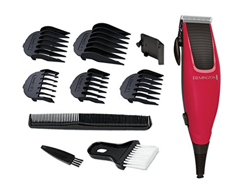 Remington Professional Apprentice Corded Hair Clippers with 5 Comb Clips and Neck...