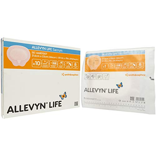 Smith & Nephew Foam Dressing Allevyn Life 8.5 X 9