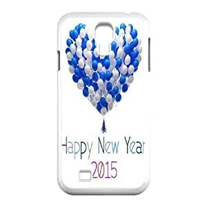 Happy New Year 2015 Design Top Quality DIY Hard Case Cover for SamSung Galaxy S4 I9500, Happy New Year 2015 Galaxy S4 I9500 Phone Case