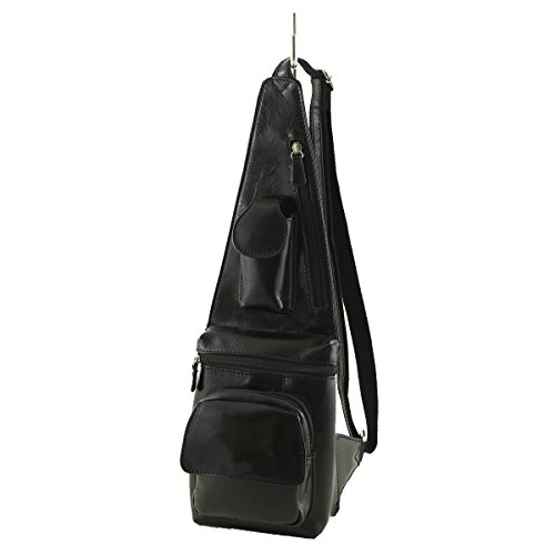 Bags Waist Leather Tuscany Bag Men Mega Black 2010 vZdx8Tdn