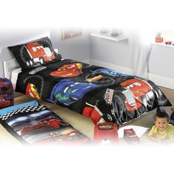 Disney Pixar Cars Drift Single Duvet Set Kids Boys Room Twin Duvet Cover Set