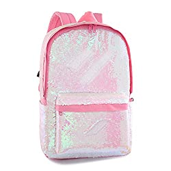 Pink Magic Reveriable Sequence Back Pack