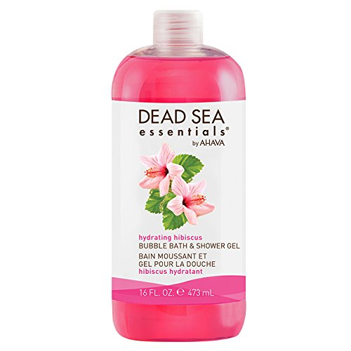 Dead Sea Essentials Ahava Hydrating Hibiscus Spa Bubble Bath, 16 Fluid Ounce