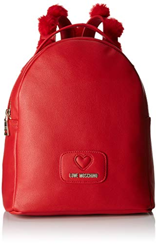 Sacs Pu Rouge Love poliestere Moschino Borsa portés Rosso dos BxqAwgq