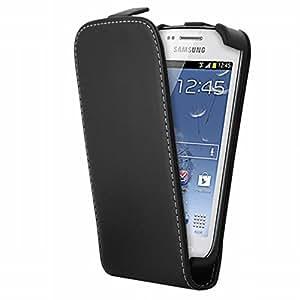 Mocca Design ERSA51 - Funda con tapa para Samsung Galaxy Trend Lite, color negro