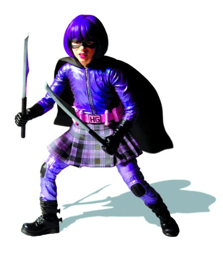 Hit Girl And Kickass Costume (Mezco Kick-Ass: Hit Girl 12
