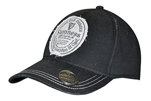 Guinness Distressed Gaelic Irish Label Cap - Men's Bottle Opener Baseball Hat
