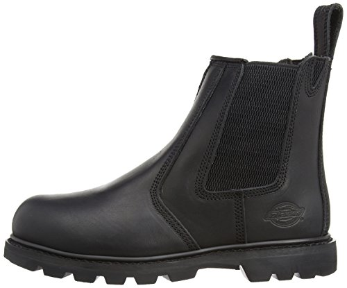 Dickies Mens Fife SB-P Safety Boots FD9214 Nubuck 11 UK Regular Black PCJTTo9l0