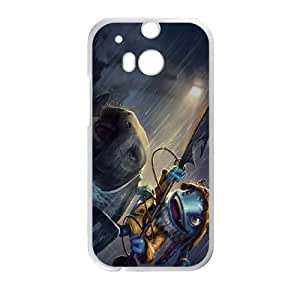 HTC One M8 Cell Phone Case White League of Legends Fisherman Fizz LOL-STYLE-5116