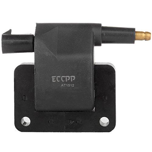 - ECCPP Pack of 1 Ignition Coil Compatible with Dodge Caravan/B150/B250/B350/B2500/B3500/Dakota Chrysler Daytona/Dynasty/Lebaron 1991-1997 Replacement for UF97 5C1707 C506