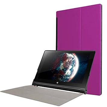 Cover for Lenovo Yoga Tab 3 10 YT3-X50 FL 10.1 Inch Smart Slim Case Book Cover Stand Flip (Purple) New