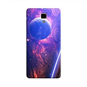 Cover It Up - Bright Planet View Mi4 Hard Case