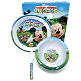 Mickey Mouse Clubhouse Kids Plate Set