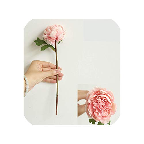 Blue-shore 1PCS Artificial Flowers Little Tea Rose Night Rose Used for Home Decoration,3