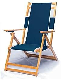 heavy duty commercial grade oak wood beach chair