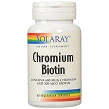 Solaray Chromium Biotin - 60 - Capsule [Health and Beauty]