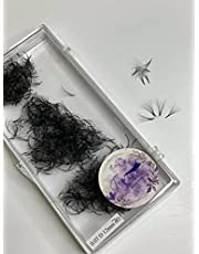 Premade Volume Fans Eyelashes Extensions (Lengths: 10mm-17mm) (Thickness: 0.05) 3D, 4D, 5D, 6D, 7D, 8D, 10D, 12D, 14D, 16D 1000 Fans/tray