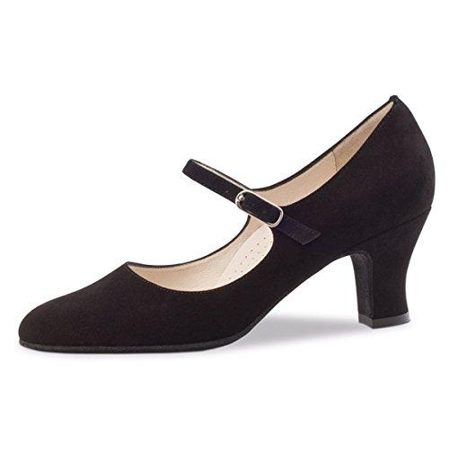 Werner Kern–Zapatos de baile para mujer Ashley 6 negro