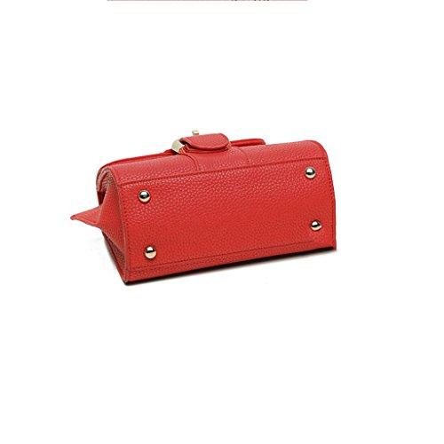Shoulder Bag Red Buckle Horseshoe Handbag Bag Summer Female Square Bag Hanging Mini New Bag Lf Fashion Saddle Small wqzBU1q