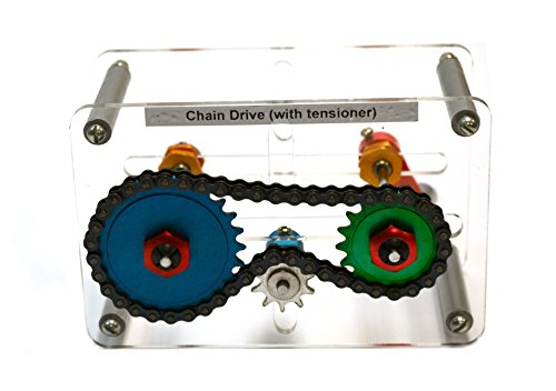 Mechanical Demostration Model - Chain Drive with Tensioner ()