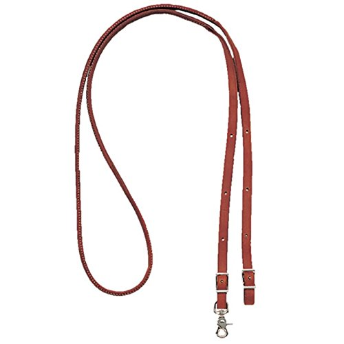 Leather Round Rein - Martin Harness Leather Round Roping Rein