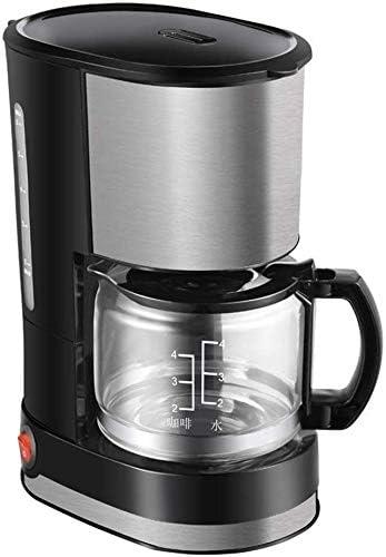 CHNFF Práctico Máquina Americana Cafetera Inteligente Aislamiento del hogar Mini automático de Alta Vidrio borosilicato elaboración de la Cerveza del té