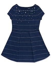 Nautica - Vestido de Manga Corta para niña