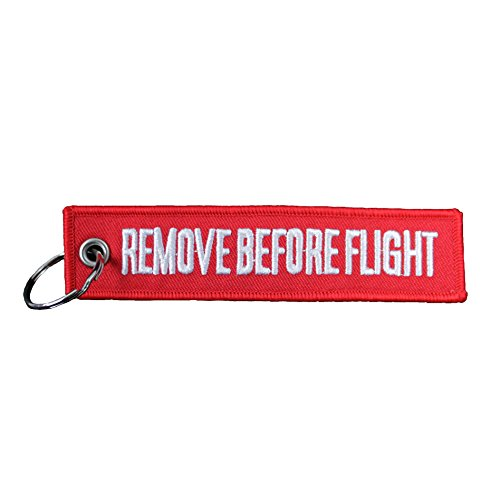Remove Before Flight Keychain - Shape In Mooney