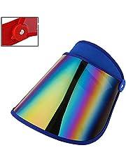 Zenyoumei Sombrero de protección Solar para la Cabeza con Diadema, Gorra de protección Solar de Verano para Mujer para Senderismo, Golf, Tenis al Aire Libre.
