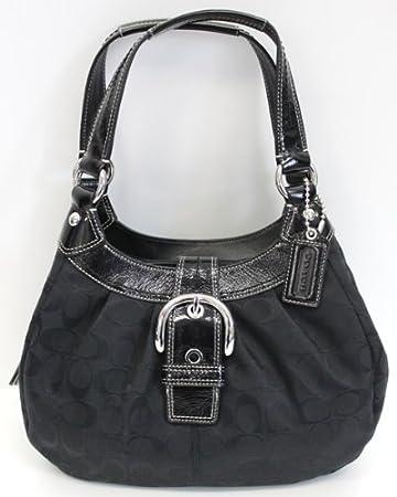 b0e4335e13 Amazon.com   Authentic Coach BAG Black F15514 Sbwbk   Makeup Bags And Cases    Beauty