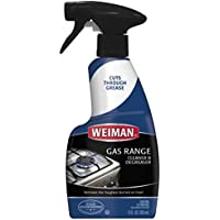 Weiman 12 Ounce Gas Range Cleaner and Degreaser (Packaging May Vary)