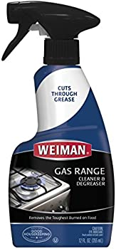 Weiman 12 Ounce Gas Range Cleaner and Degreaser