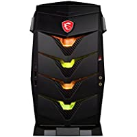 MSI Aegis 3 Plus 8th Aegis 3 Plus 8RD-224US Intel Core i7 (8th Gen) i7-8700 16GB DDR4 SDRAM 2TB HDD 256GB SSD VR Ready Gaming Desktop Computer