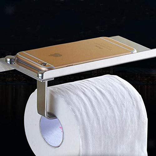 Wall Mounted Stainless Steel Toilet Paper Holder Roll Bathroom Towel Rack -