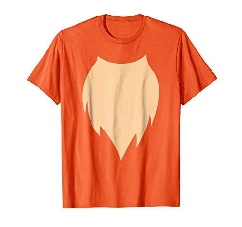 Cute Fox Belly Costume Halloween T Shirt ()