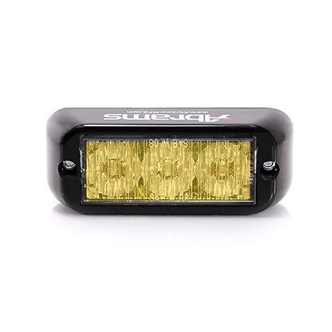 Amazon.com: Luces LED para parrilla de Abrams, Ambar: Automotive