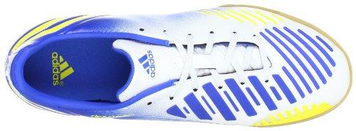 adidas Performance P Absolado LZ IN - Zapatos de fútbol de material sintético hombre Running White Ftw / Vivid Yellow 013 / Prime Blue 012