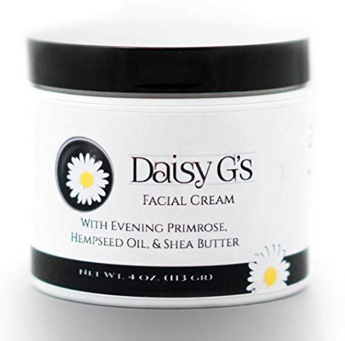 Gs Daisy - Daisy G's Facial Cream with Evening Primrose, Hempseed Oil, Shea Butter (4oz Night Cream with Organic Ingredients)