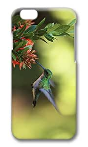 MOKSHOP Adorable colibri nectar Hard Case Protective Shell Cell Phone Cover For Apple Iphone 6 Plus (5.5 Inch) - PC 3D