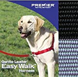 Easy Walk Harness – Small Color: Black/Silver, My Pet Supplies