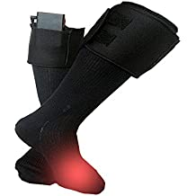 Xlight.ca Battery Powered Smart Heated Warm Socks Kit for Chronically Cold, Outdoor for Fishing, Skiing, Hunting