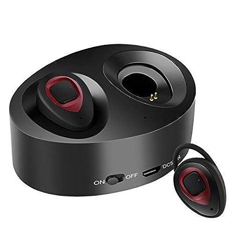 Auriculares Bluetooth Inalámbricos Auriculares Inalambricos iPhone WiFun Con Micrófono, Gemelos Estéreo V4.1 Auriculares